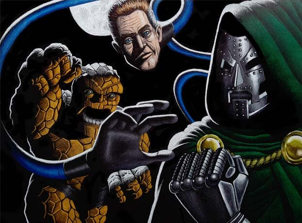 Dr. Doom vs. The Thing and Mr. Fantastic