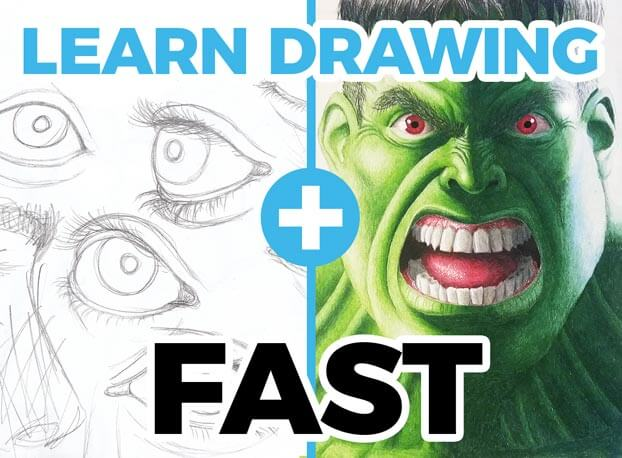 how to learn drawing fast