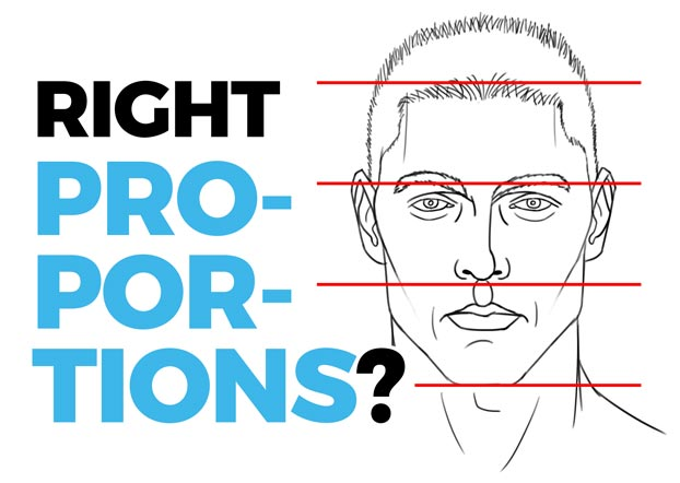 proportions of the face basics